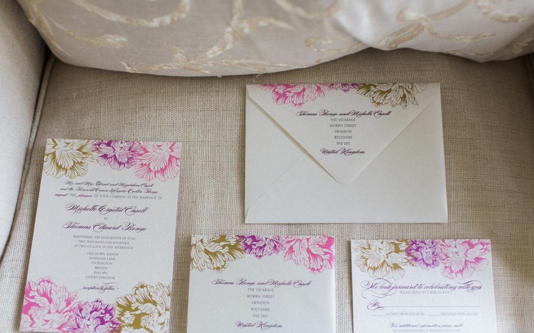 DIY wedding stationery – the latest Pinterest craze