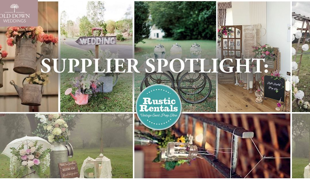 Wedding Fayre Supplier Spotlight: Rustic Rentals