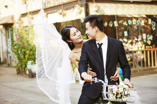Bicycles for wedding
