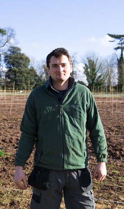 Meet the Landscape Gardener and Maze Maker, Callum