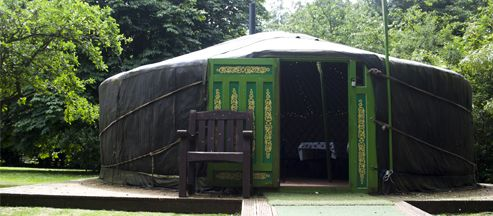 Yurt and Bus
