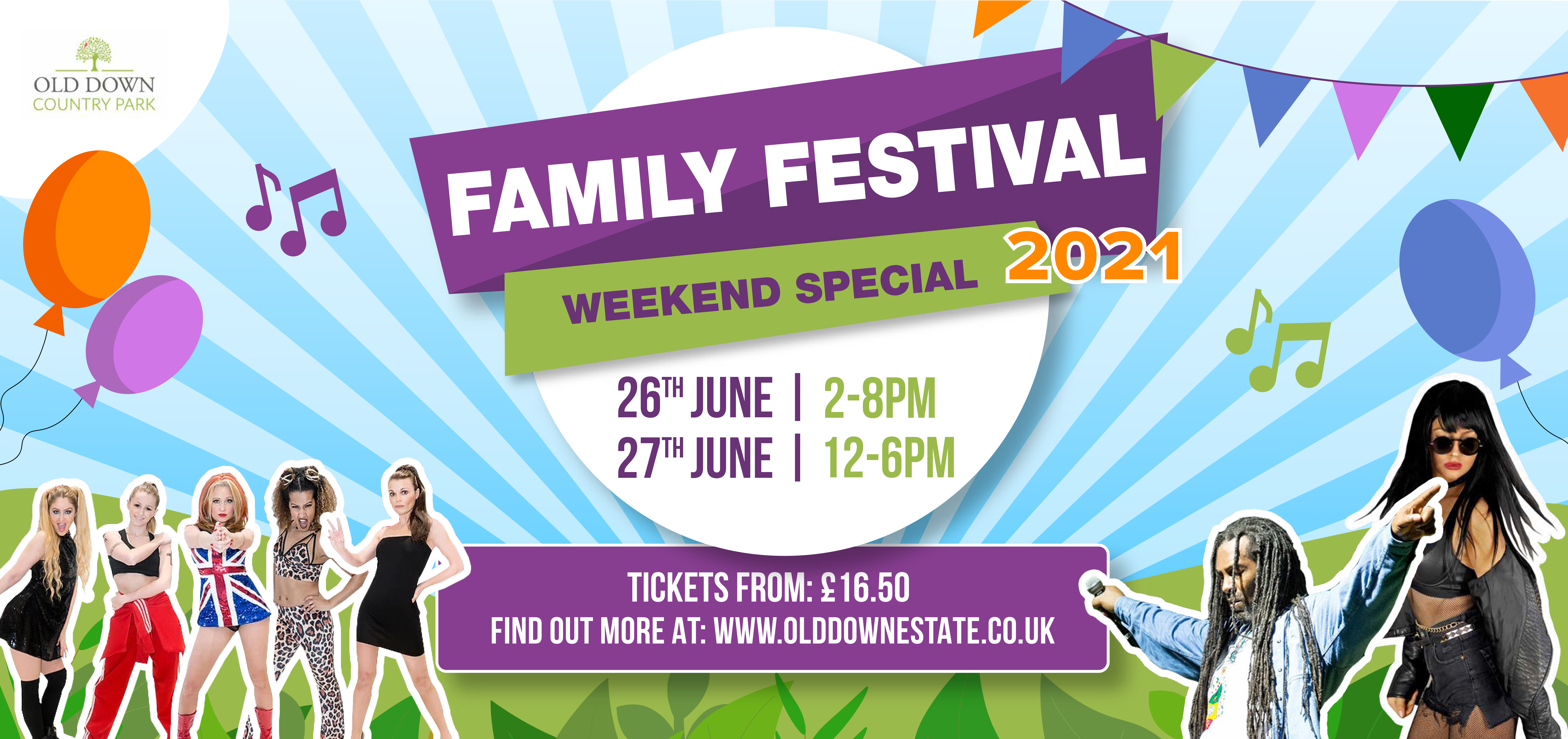 Family Festival Weekend Special 26th 27th June